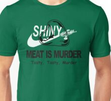 Meat Is Murder Tasty Tasty Murder T-Shirt Funny BBQ Food TEE Cooking Bacon Unisex T-Shirt