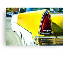 Classic Tail Light Canvas Print
