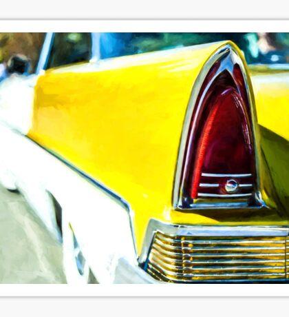 Classic Tail Light Sticker