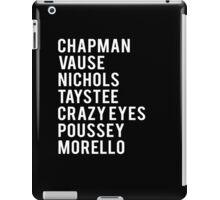 INMATES iPad Case/Skin