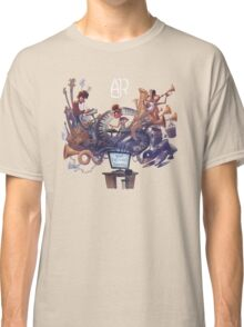 "AJR ""What Everyone's Thinking"" White Logo Classic T-Shirt"