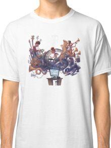 "AJR ""What Everyone's Thinking"" White Logo Classic T-Shirt"