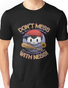 Earthbound - Don't Mess With Ness Unisex T-Shirt