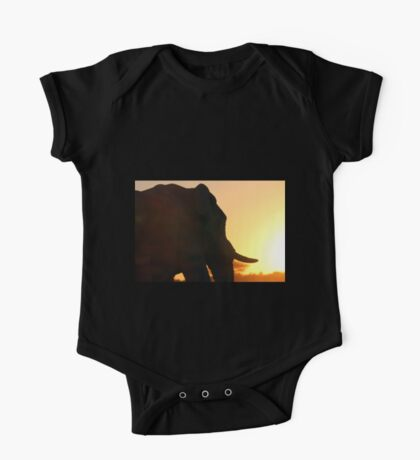 Silhouette of a Colossus One Piece - Short Sleeve