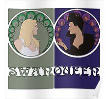 Swan Queen Nouveau Poster