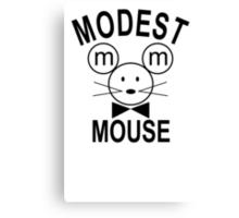 Modest Mouse Rock Band Black Hooded Sweatshirt Sz S M L XL Canvas Print