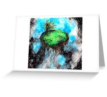 serenity in space Greeting Card