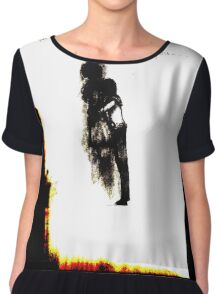 Jeff the Killer Fanart  Piece 1 - Altered Chiffon Top