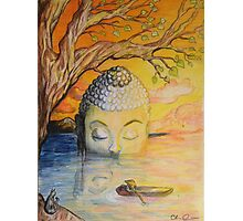 Buddha Blessed Photographic Print