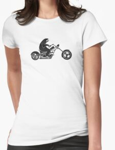 Slow Sloth On A Fast Bike Womens Fitted T-Shirt