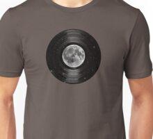 Moon In Space Vinyl LP Record Unisex T-Shirt