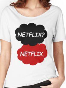 Netflix Netflix Women's Relaxed Fit T-Shirt