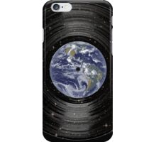 Earth In Space Vinyl LP Record iPhone Case/Skin