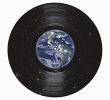 Earth In Space Vinyl LP Record by TheShirtYurt