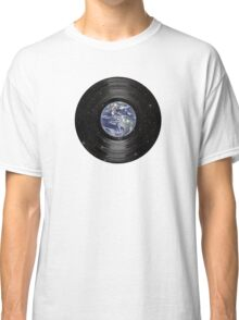 Earth In Space Vinyl LP Record Classic T-Shirt
