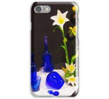 Blue glass and... iPhone Case/Skin
