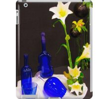 Blue glass and... iPad Case/Skin