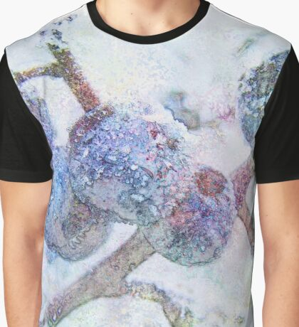 Vibrant Frost 1 with frame Graphic T-Shirt