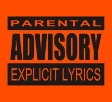 Parental Advisory by beardburger