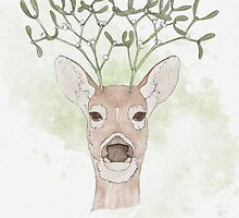 Mistle-Doe by Corinna Djaferis