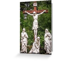 Crucifixion in Cork Greeting Card