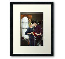 good morning - sherlock Framed Print
