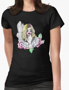 utter transparency Womens Fitted T-Shirt