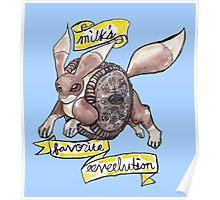 Milk's Favorite Eeveelution Poster