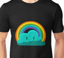 Rainbow Cloud Unisex T-Shirt