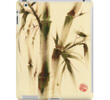 """Awareness"" Sumi-e bamboo painting on paper iPad Case/Skin"