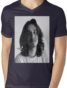 Pouya Curls Mens V-Neck T-Shirt