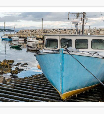 Mill Cove fishing wharf Sticker