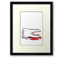 Dead Tooth Framed Print