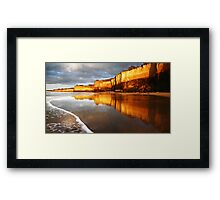 Morning Walk,Anglesea,Great Ocean Road,Australia. Framed Print