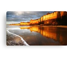 Morning Walk,Anglesea,Great Ocean Road,Australia. Canvas Print
