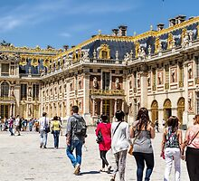 Palace of Versailles, France by Elaine Teague