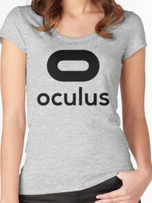 OCULUS Women's Fitted Scoop T-Shirt