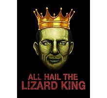 All Hail The Lizard King Photographic Print