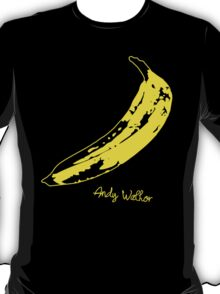 Retro Velvet Underground Andy Warhol Banana Rock Black T Shirt Sz S M L XL T-Shirt