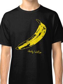 Retro Velvet Underground Andy Warhol Banana Rock Black T Shirt Sz S M L XL Classic T-Shirt