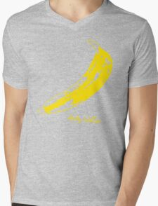 Retro Velvet Underground Andy Warhol Banana Rock Black T Shirt Sz S M L XL Mens V-Neck T-Shirt