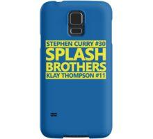 SPLASH BROTHERS (#11 and #30) Samsung Galaxy Case/Skin