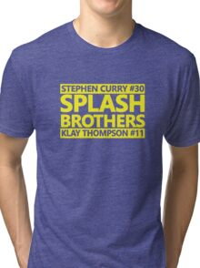 SPLASH BROTHERS (#11 and #30) Tri-blend T-Shirt