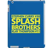 SPLASH BROTHERS (#11 and #30) iPad Case/Skin