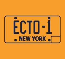 Ecto 1 Plate by Duperdu