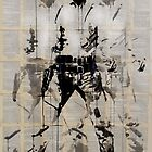 elvis (after andy) by Loui  Jover