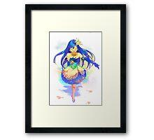 #1 Idol Framed Print