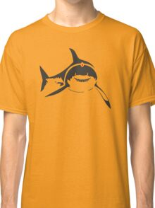 SHARKS WITH FRICKIN LASER BEAMS T-Shirt Soft Funny AUSTIN POWERS TEE Dr Evil Classic T-Shirt