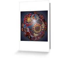 Spherical Mechanism  Greeting Card