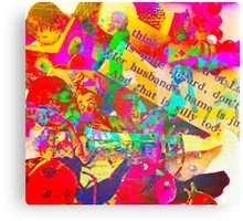 Absurd by Art and Soul Mamma Canvas Print